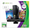 Amazon Xbox 360 Console 4GB w/ Kinect Holiday Bundle - 11/22 9:10-11:45pm Only