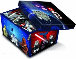 Neat-Oh! LEGO Star Wars ZipBin Medium Toybox & Playmat