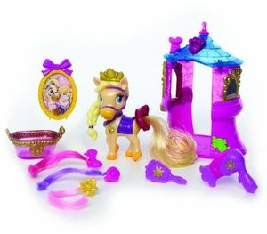 Blip Toys Disney Princess Palace Pets Beauty and Bliss Playsets - Rapunzel  Blondie