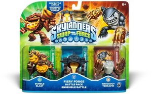 Skylanders Swap Force - Battle Pack - Fiery Forge