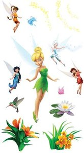 Garden of Fairy Tinker Bell Friends Room Decor