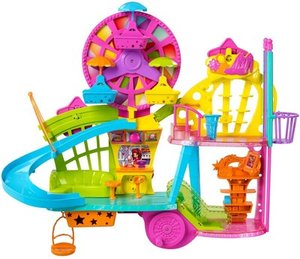 Polly Pocket  Party Mall  Playset