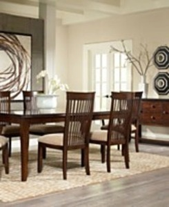 Augusta 7 PC Dining Set