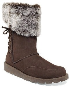 Rampage Women's  Aligner Faux-Fur Cold Weather Boots