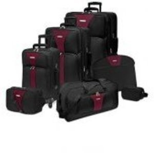Traveler's Choice Creekside Spinner 7 Piece Luggage Set