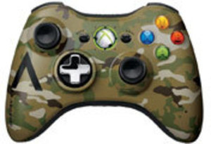 Camo Wireless Controller (Xbox 360)