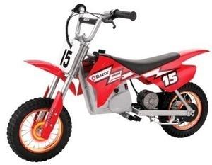 Razor MX400 Dirt Bike with Lighted Valve