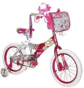 "16"" Barbie Bike"