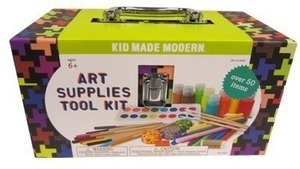 50 pc Kid Made Modern Art Supplies Tool Kit