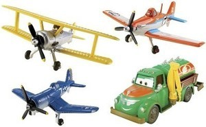 Disney Planes 4pk Die-Cast Gift Set