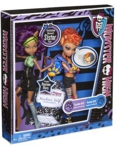 Monster High 2pk Howleen Wolf Dolls After Coupon
