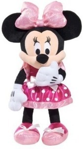 Minnie Bowtique Tinkled Pink Plush
