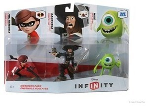 Disney Infinity Figure 3-Pk - Sidekicks