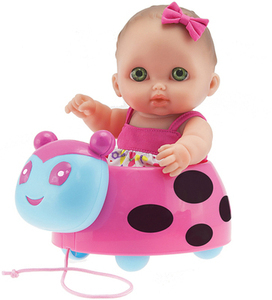 Lil Cutsies Lady Bug Doll