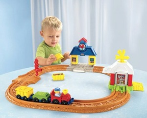 Little People Wheelies Connect n Go Train Set