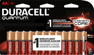 Duracell Quantum 12-Pack AA Batteries