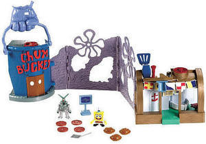 Fisher-Price Imaginext SpongeBob Krusty Crab Playset