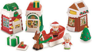 Fisher-Price Little People Christmas Village
