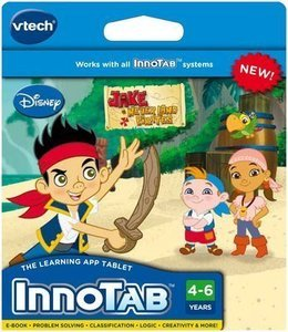 Jake and the Neverland Pirates VTech InnoTab Software