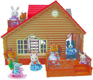 Calico Critters Lakeside Lodge Playset