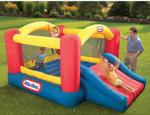 Little Tikes Jump 'n Slide Inflatable Bouncer (After Coupon)