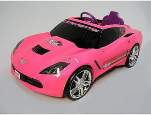 Power Wheels Barbie 12 V Corvette w/ Coupon