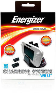Energizer 3X Charging System for Wii U