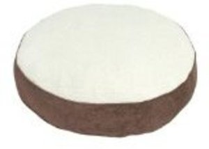 Brinkmann Faux Suede Round Pet Bed