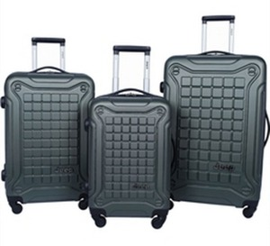 Jeep 4-Wheel Spinner 3-Pc. Luggage