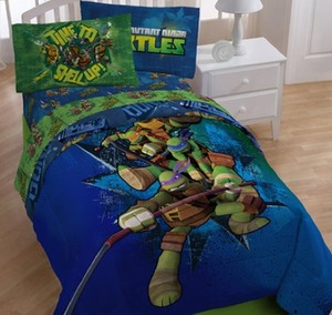 Teenage Mutant Ninja Turtle Twin Sheet Set