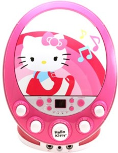 Sakar Hello Kitty CD+G Karaoke Machine with Lights