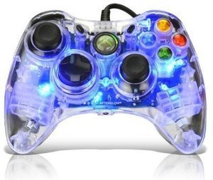 Xbox 360 AfterGlow Controller - Blue
