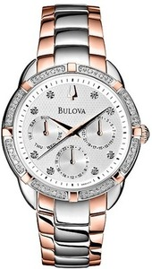Bulova 98R177 Women's Diamond Accent Watch