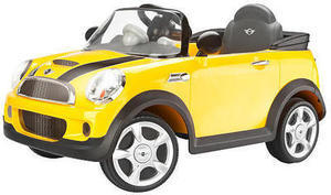 Mini Cooper 6V Ride-On - Yellow