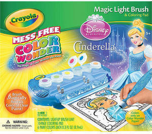 Crayola Color Wonder Magic Light Brush- Cinderella