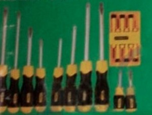 Stanley Cushion Grip Screwdriver Set