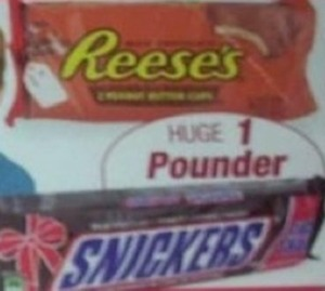 Giant Snickers or Reese's Peanut Butter Cup
