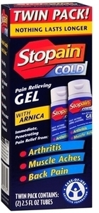 Stopain Gel 2pk 2.5oz Ea w/ Card After Register Rewards