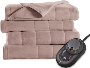 Sunbeam Fleece Electric Blanket, Twin
