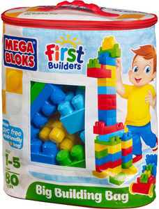 Mega Bloks First Builders 80 Piece Blocks, Blocks, and More Blocks