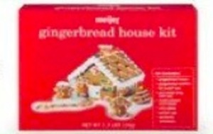 Meijer Gingerbread House Kit