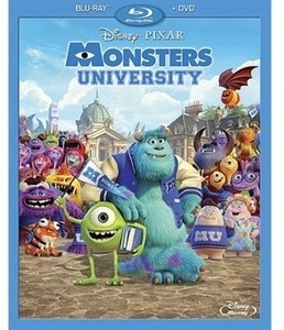 Monsters University Blu-ray w/ Exclusive Content