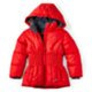 Girls' Vertical 9 Puffer Jacket