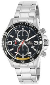 Invicta Men's Silver-Tone Limited Edition Chronograph Watch