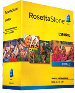 Rosetta Stone Spanish Latin America Level 1, 2, 3, 4, 5 Set