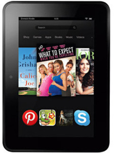 "Kindle Fire HD 7"" 16GB + $10 OfficeMax Gift Card"