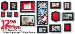 15pc Frame Set