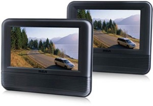 "RCA Dual Screen 7"" Mobile DVD Player"