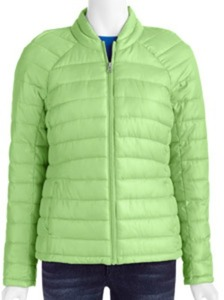 Women's Faded Glory Packable Polyfill Jacket