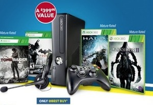 Xbox 360 250GB Black Friday Bundle